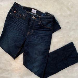 Hudson Jeans Frayed Bottom Jeans